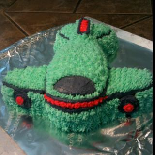 Airplane birthday cake molds