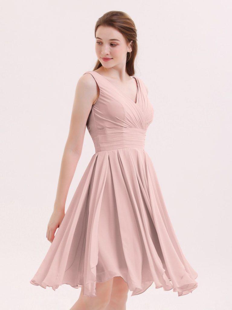 kleider für hochzeit rosa kurz in 2020 | kleid rosa kurz