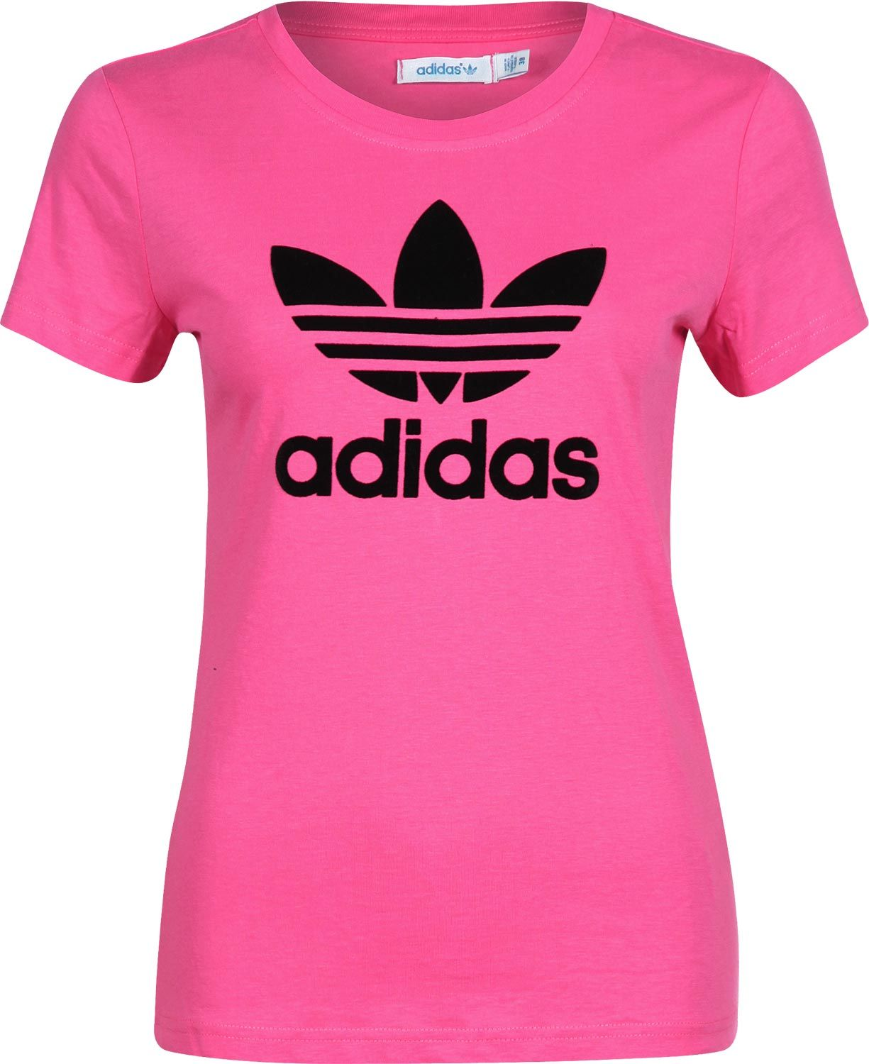 befc0a1f023a0e pink and black adidas tee