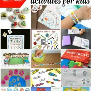 Photo of 21 Back to School Activities for Kids – itsybitsyfun.com