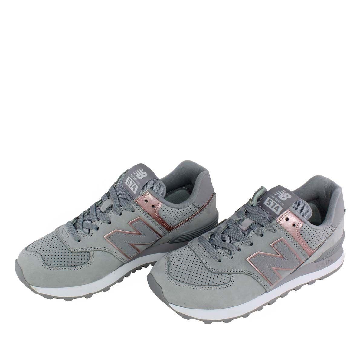 hot sale online cff0d a3800 New Balance 574 Nubuck γκρι, διαχρονικά sneaker icons της ...