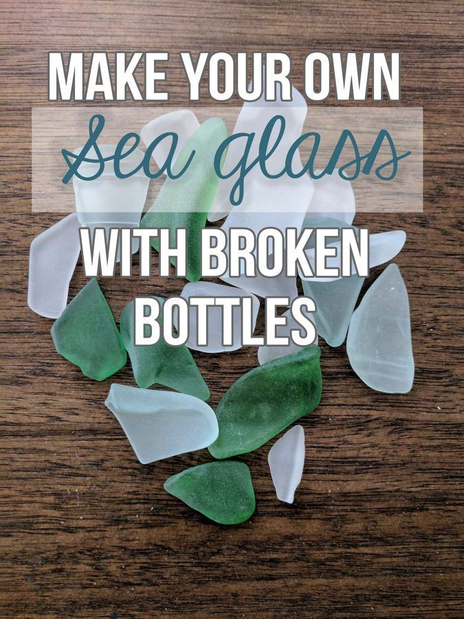 4 Easy Steps to Make Your Own Sea Glass at Home · Hawk Hill