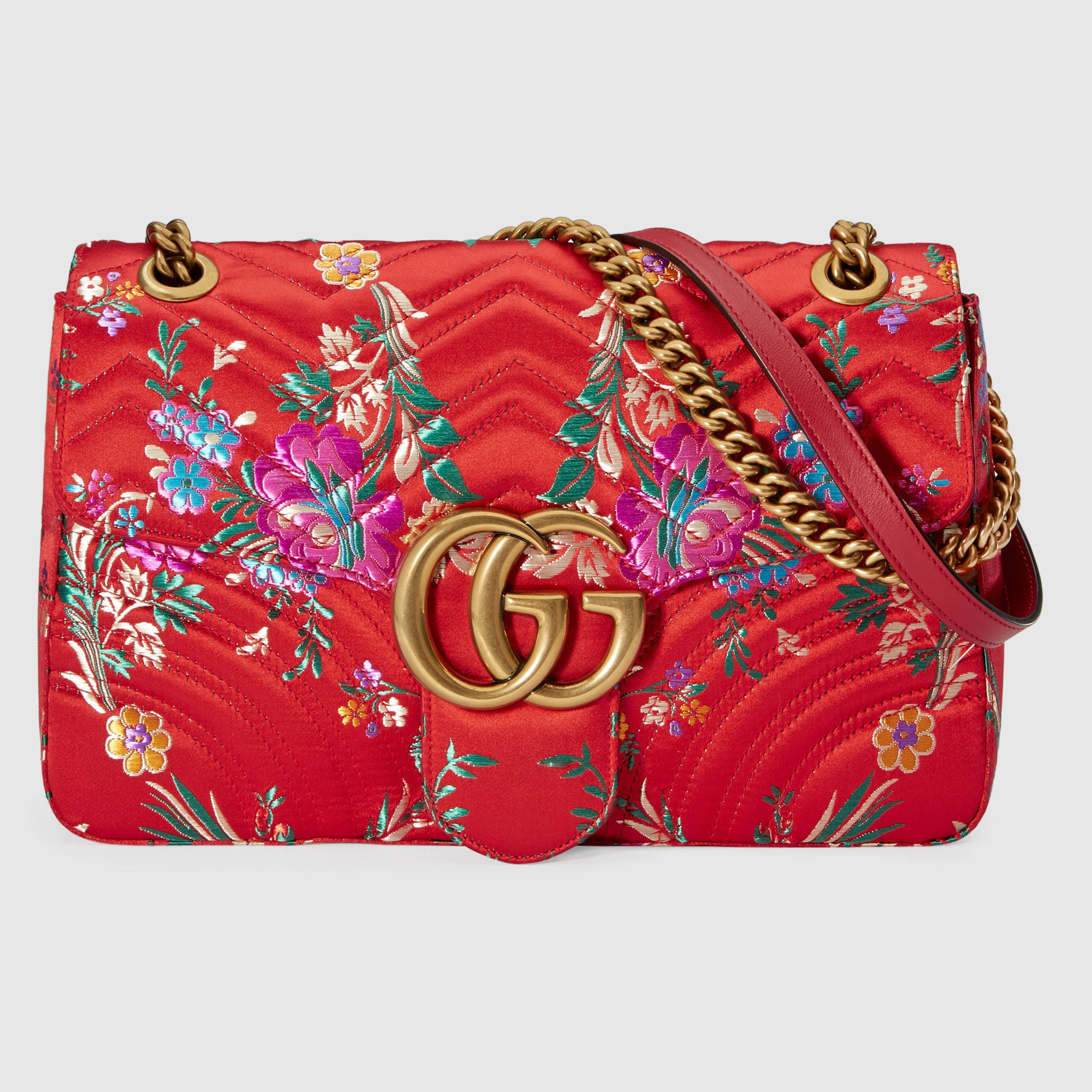Gucci woven jacquard bag. Various styles. Spring Summer ...