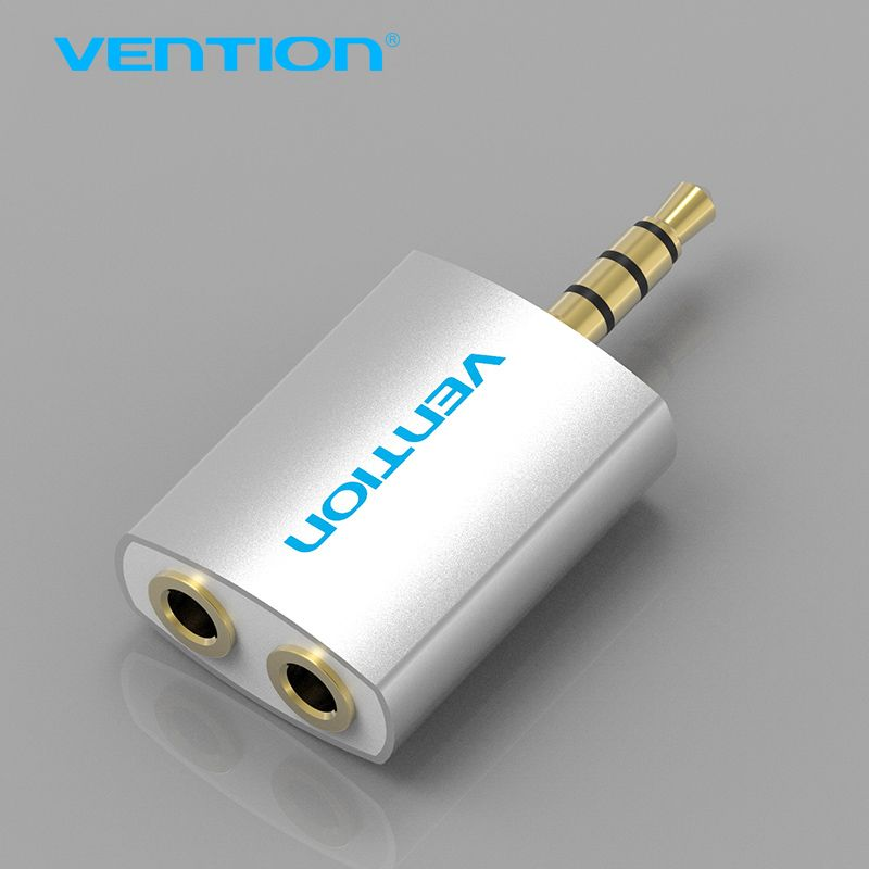 Vention 3 5mm Earphone Audio Splitter Connecter Adapter 1 Male To 2 Female For Headphone Pc Mobile Phone Mp3 M Mobile Phone Headphone Best Headphones