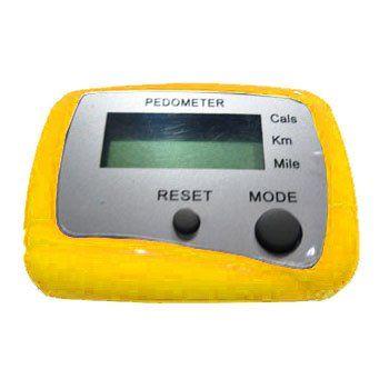 CW Multi-Function Pedometer (Yellow) $2.29 #bestseller