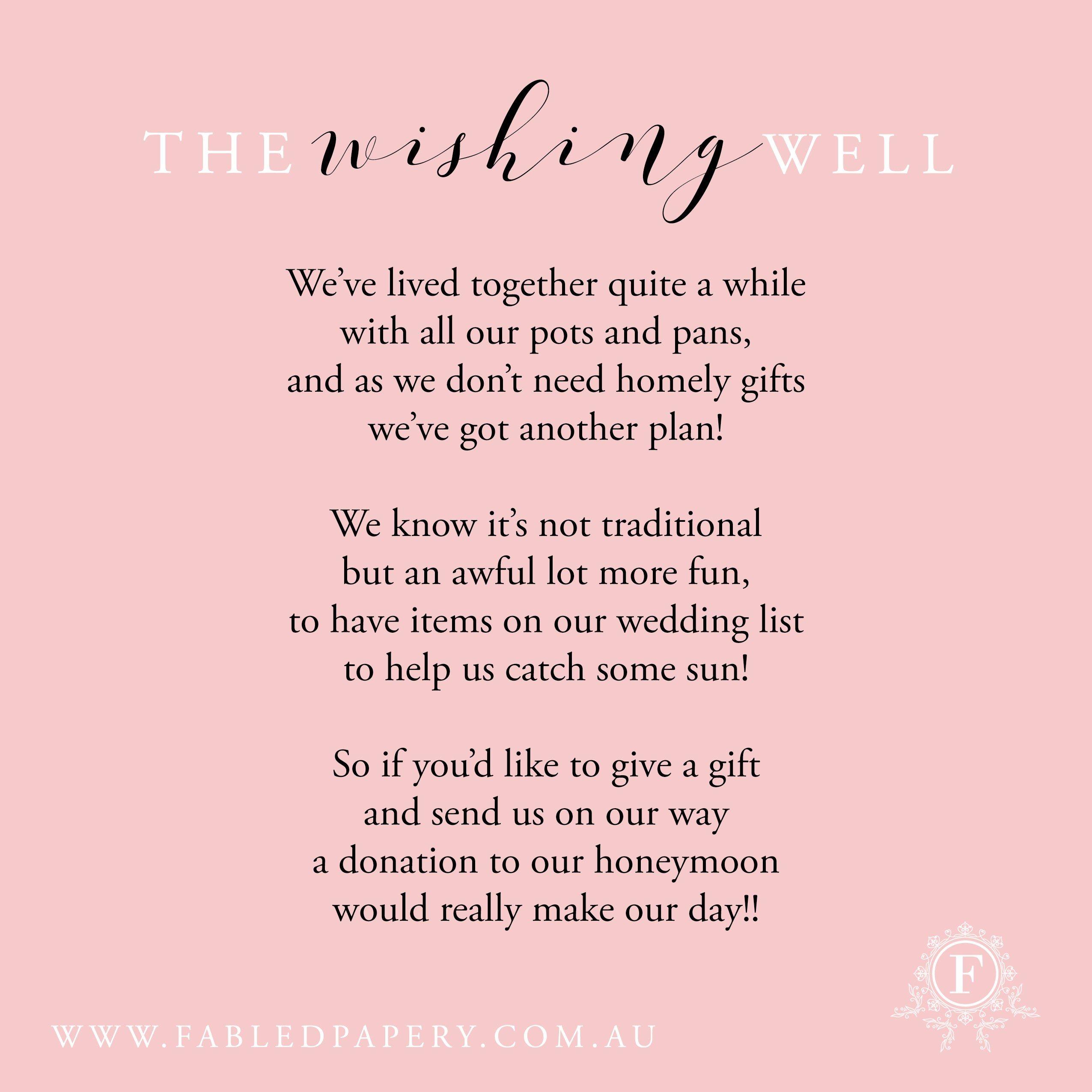 Wishing Well Poems | Wishing Well Poems | Pinterest | Poem, Wedding ...