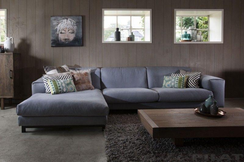 Ongekend Hoekbank Tibbe de ideale loungebank met diepe zit en hoge rug SA-95