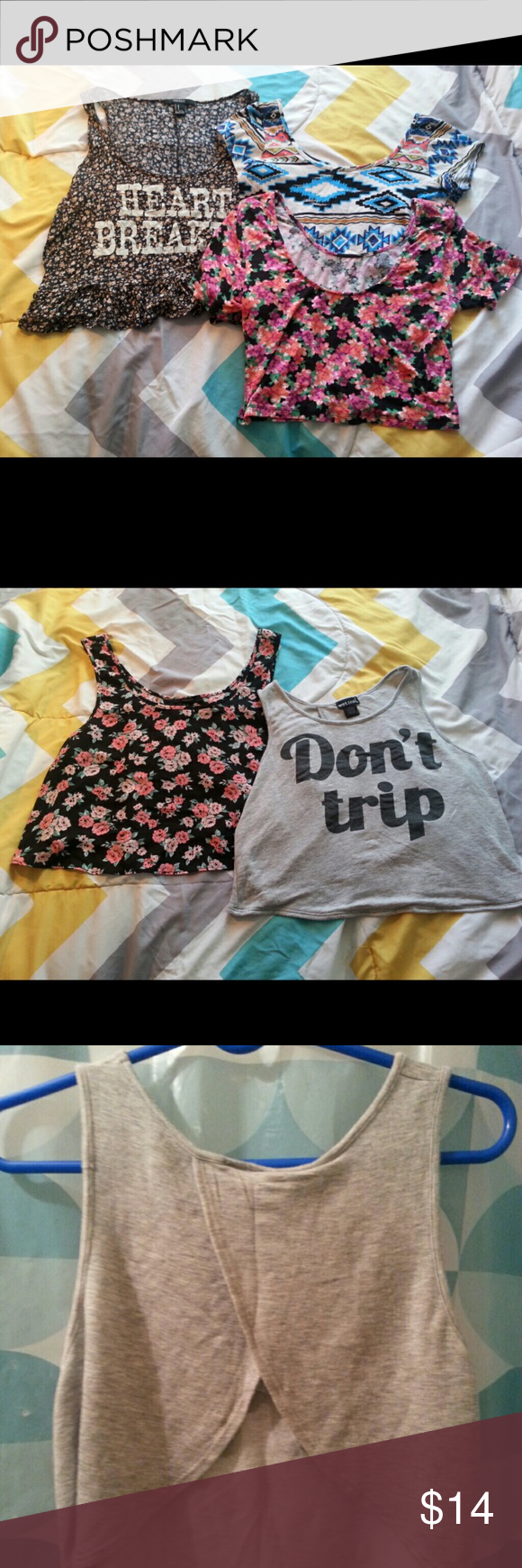 65f15665cd77d Last Chance 2 Buy 🌟🌟 Heartbreaker Top from Forever 21 (size M ...