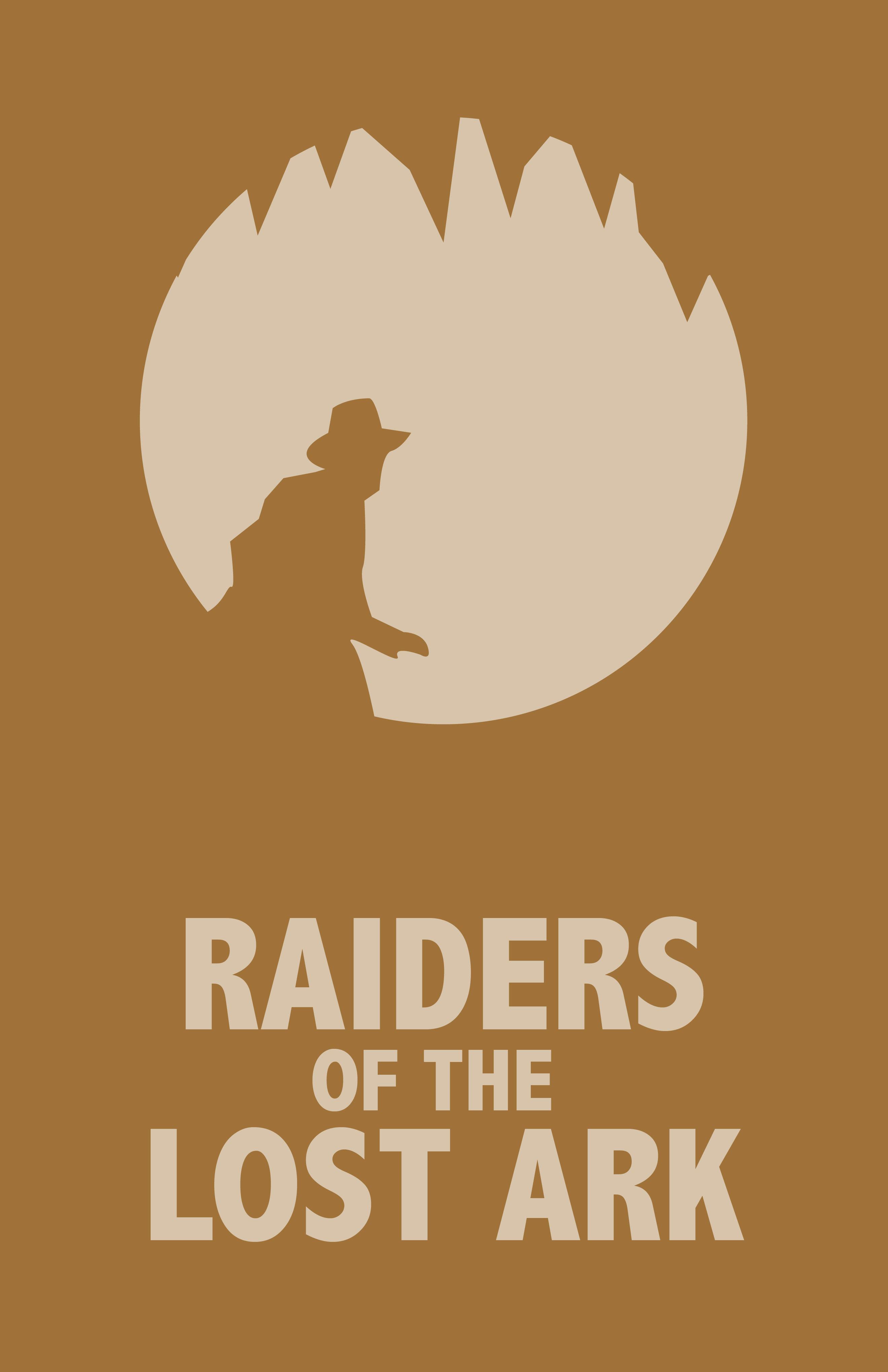 Raiders of the Lost Ark Minimalist Poster | Indiana jones ...