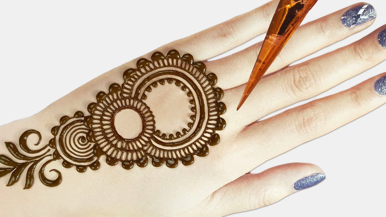Back Hand Mehndi Design Tutorial In 2020 Mehndi Designs For Hands Simple Mehndi Designs Back Hand Mehndi Designs