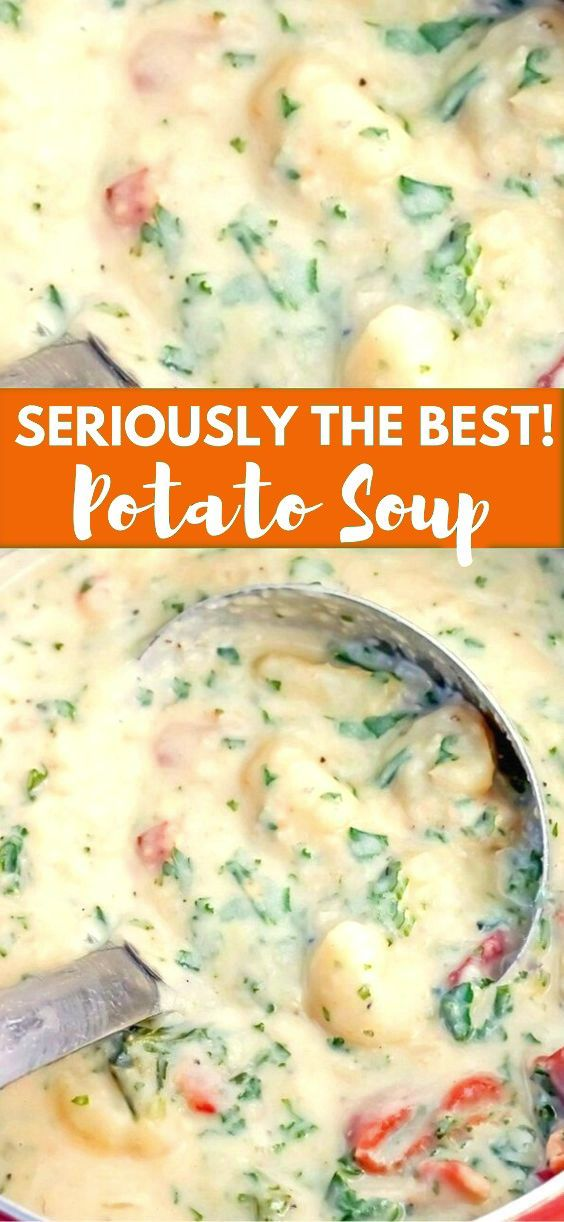The Best Potato Soup - Bunny's Warm Oven