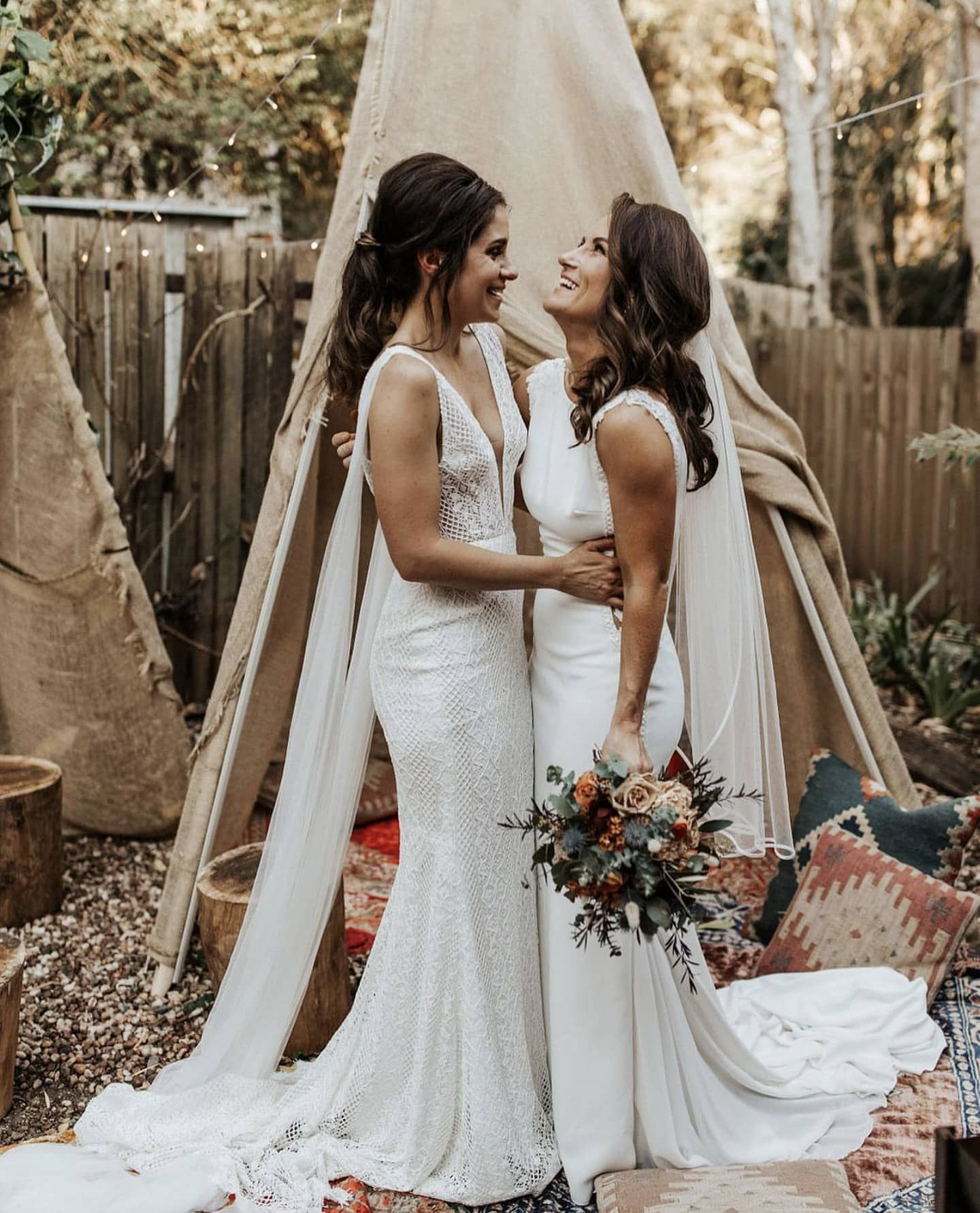 Who says you can't have a beautiful backyard wedding with ...