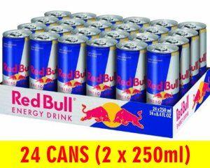 Red Bull Original Energy Drink Slab 24 Cans X 250ml Club