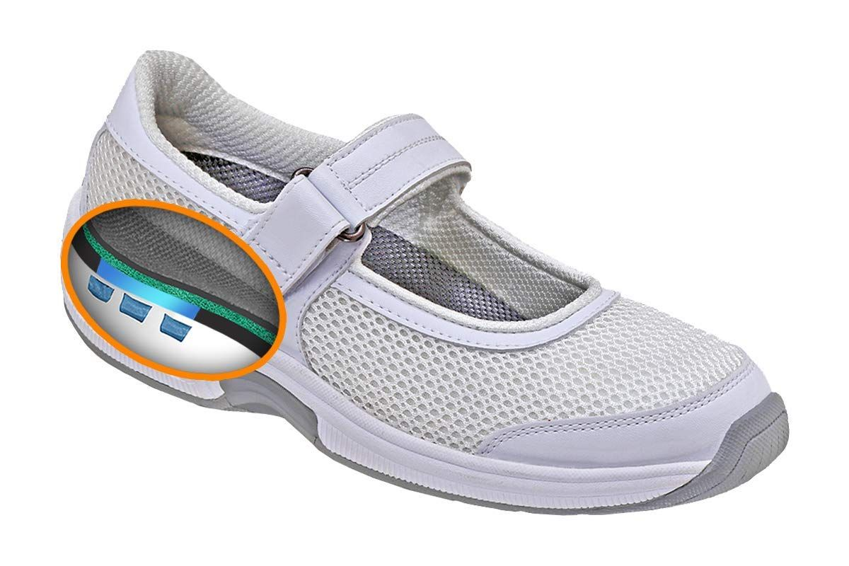 Orthopedic Bunions Diabetic Womens Shoes Bristol Extended Widths Orthofeet Proven Heel and Foot Pain Relief
