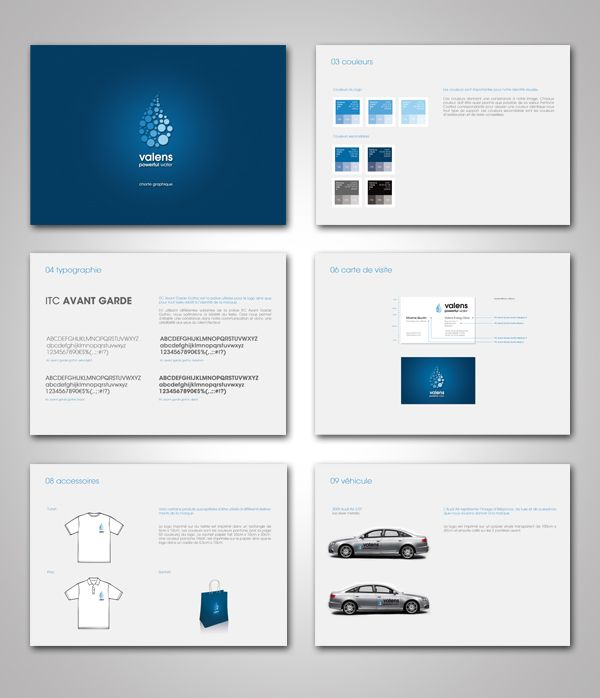 Valens u2013 engergy drink Corporate identity by Maxime Quoilin - sample user manual template