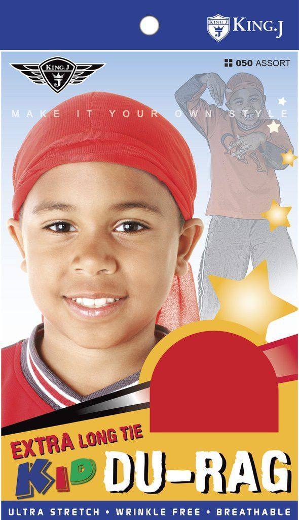 d6f8b9b16514c8 King J Kids Extra Long Tie Du-Rag - Kids Durag | Products | Extra ...