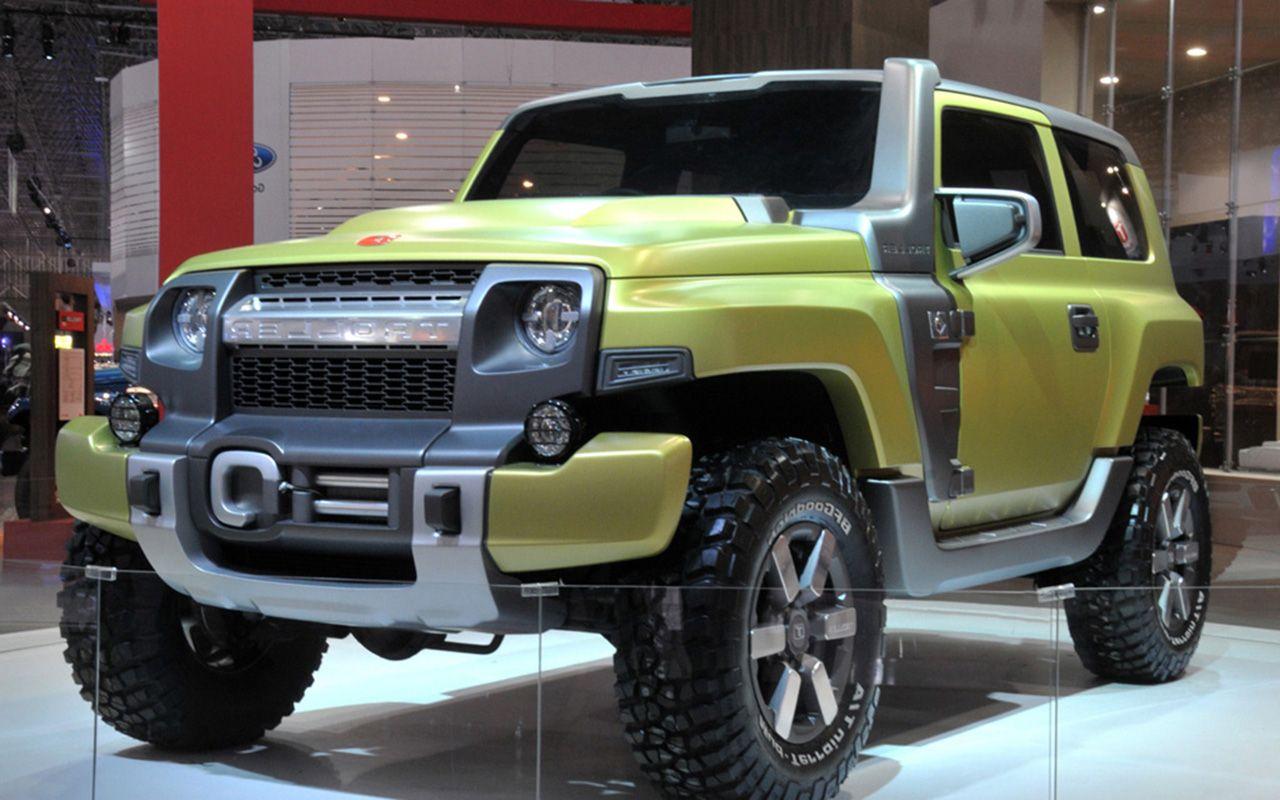 2017 Ford Bronco Raptor SVT - http://www.carmodels2017.com ... 2017 Ford Bronco Svt