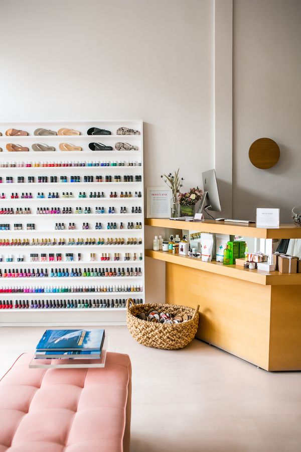 A peek inside the prettiest nail salon you 39 ve ever seen for 24 hour nail salon queens ny