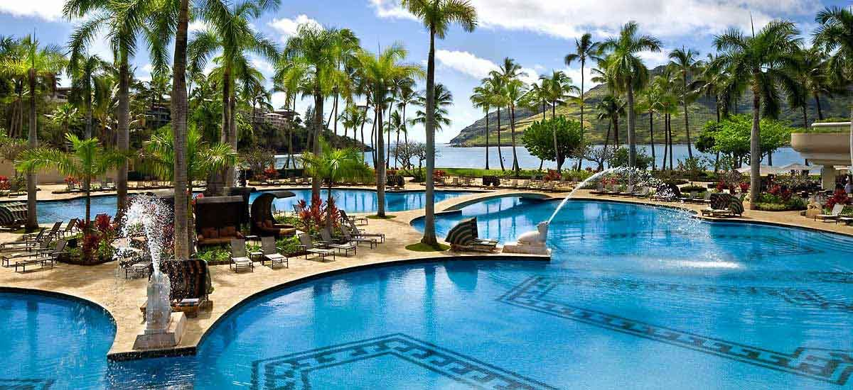 Hotels In Lihue Kaua I Marriott Resort One Of The Resorts We Re Staying At On Our Honeymoon