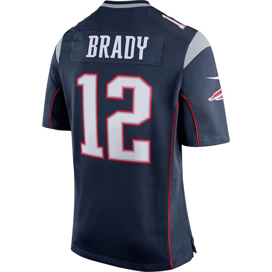 Men S New England Patriots Tom Brady Nike Navy Blue Silver Game Jersey In 2020 New England Patriots Nfl New England Patriots New England Patriots Game