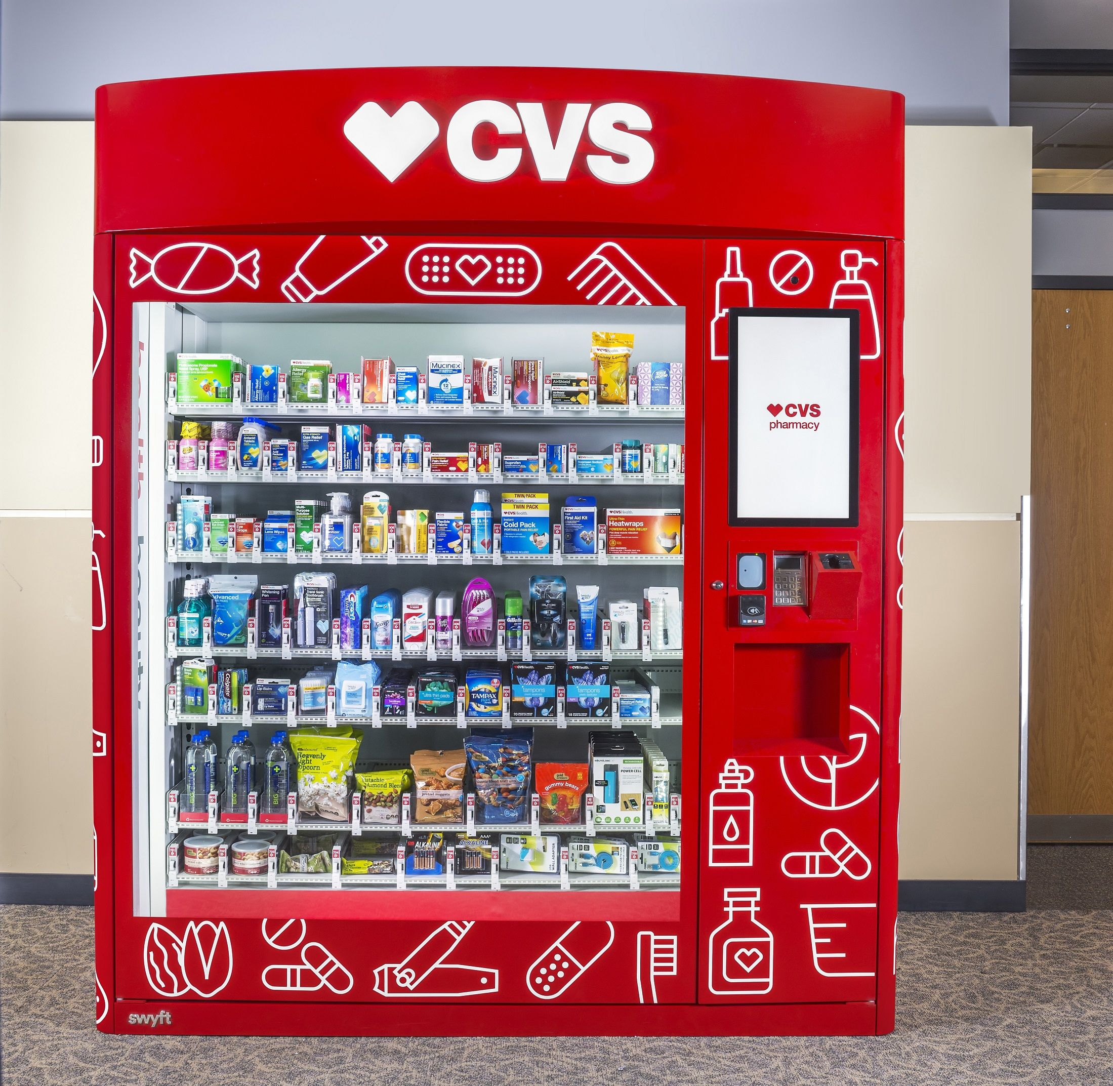 New CVS Vending Machines Are Total Life Savers Vending
