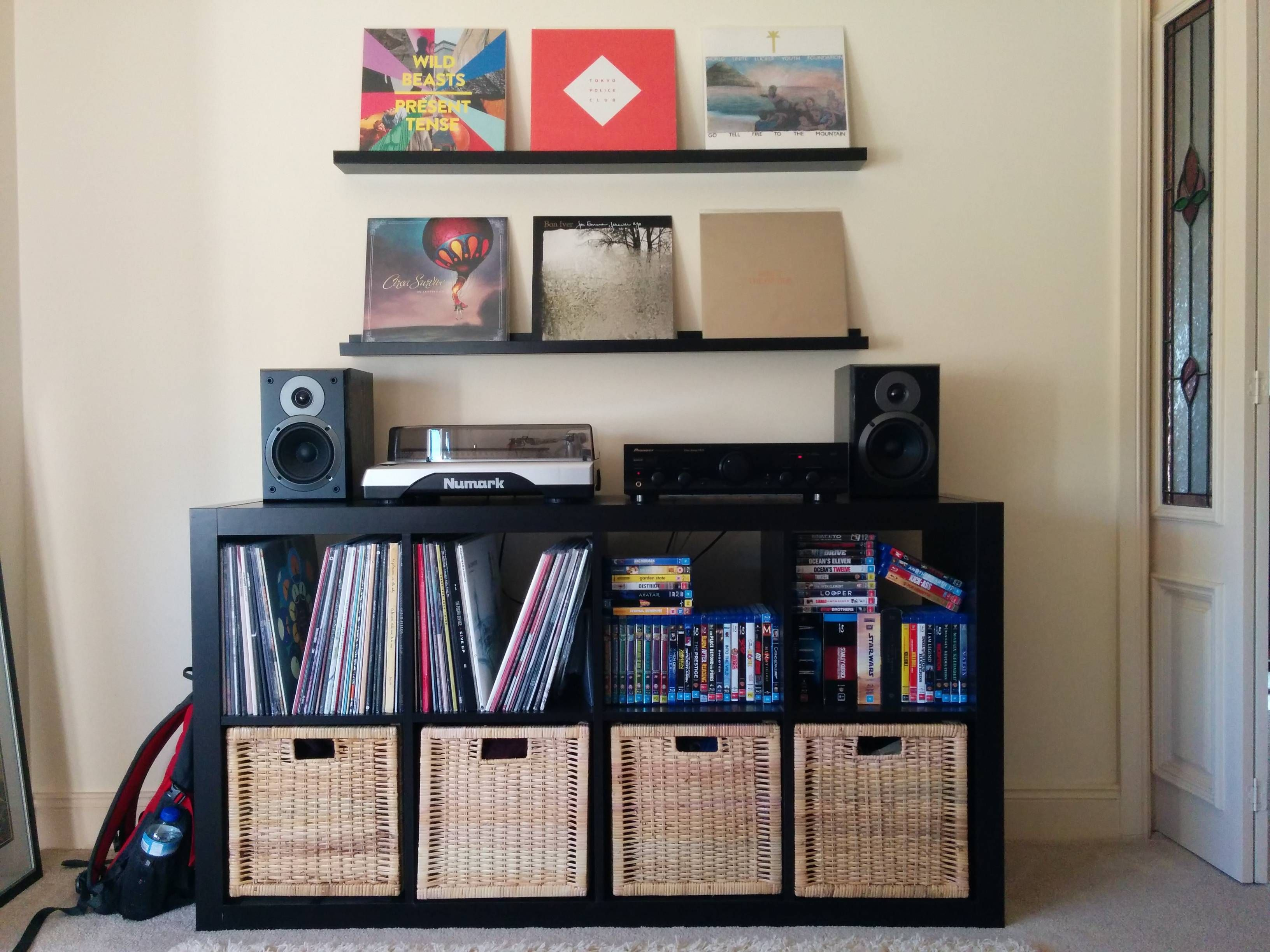 Vinyl Record Storage Display Like The Idea Of Having A
