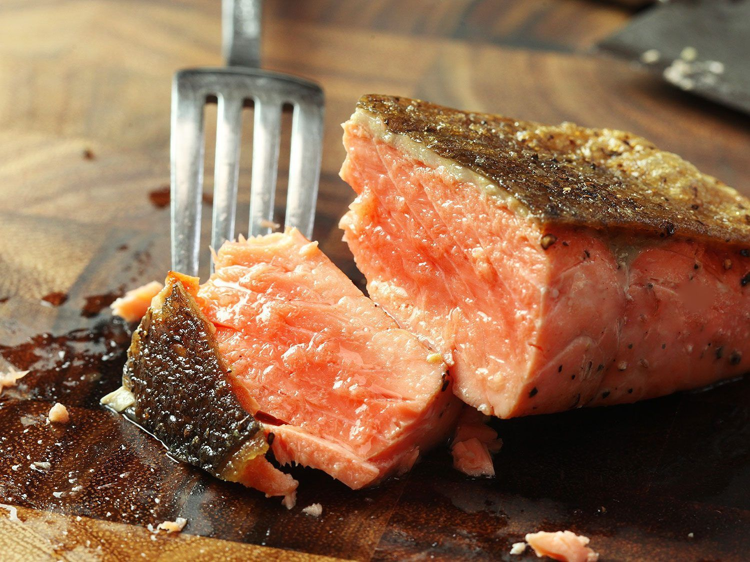 Photo of How to Make Pan-Fried Salmon Fillets With Crispy Skin | The Food Lab #searedsalm…
