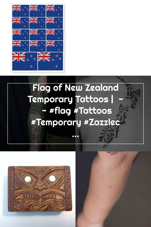 Flag of new zealand temporary tattoos flag tattoos