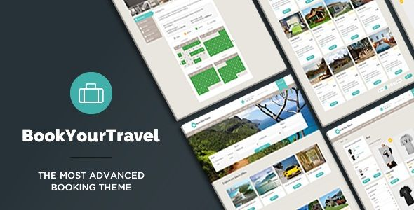 Book Your Travel v7.16 – Online Booking WordPress Theme | Template ...