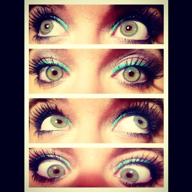 Secretly wish I had green eyes but I guess I can settle for my hazel.... love my eyes no matter what <3