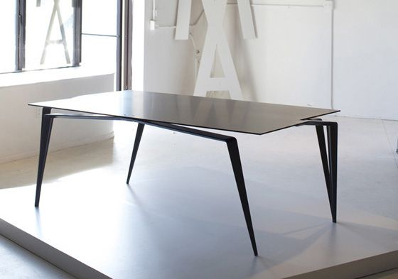 Panther Carbon Fiber Kevlar Titanium Dining Table Dining Table Home Goods Decor Table Design