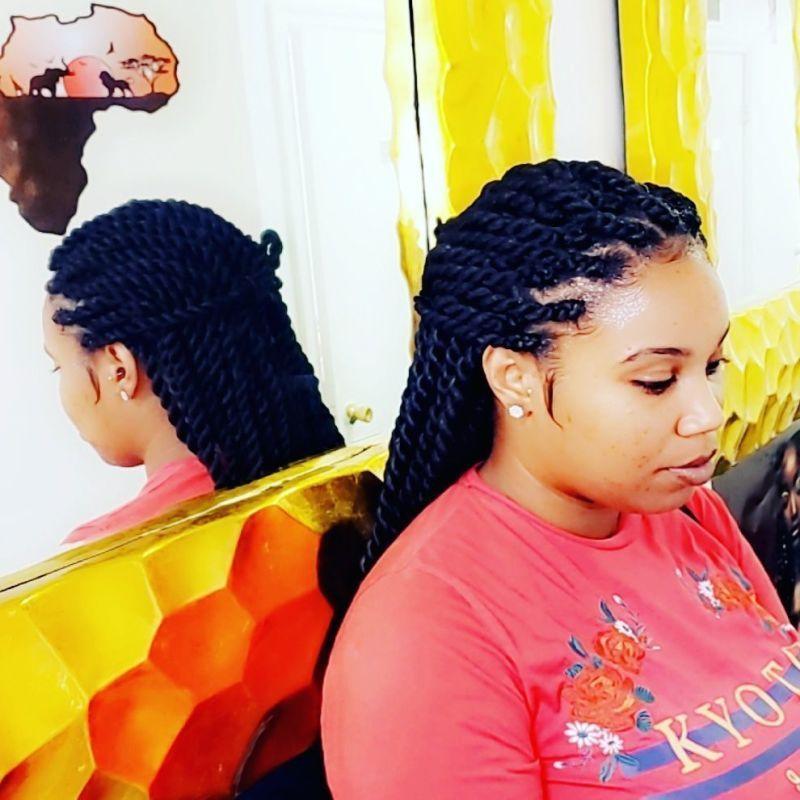 Rama Coco African Hair Braiding Salon Newark New Jersey Free Hair