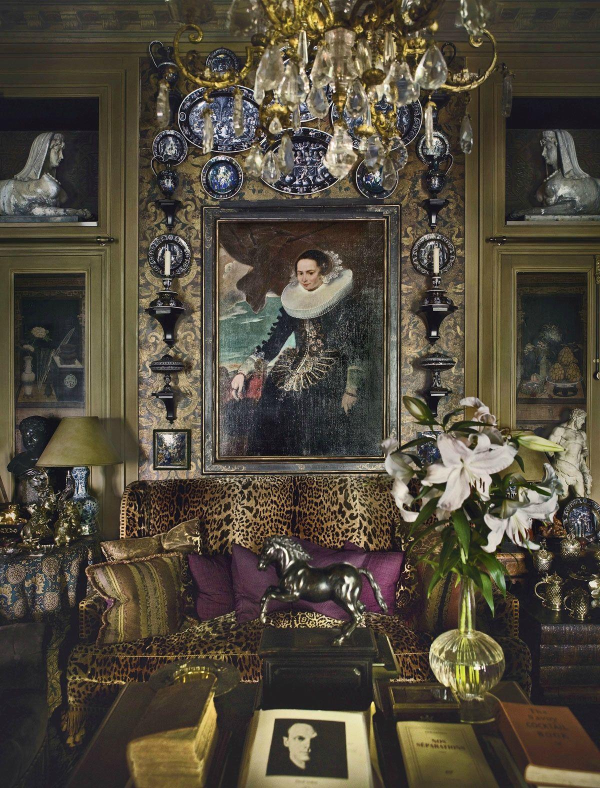 Fran ois joseph graf un appartement paris decor for Decoracion de interiores paris