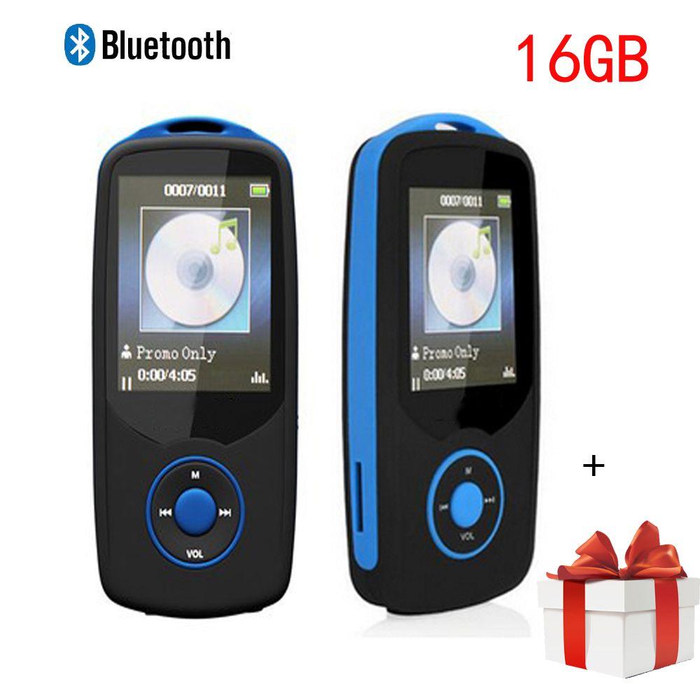 Min Bluetooth mp3 player 16GB Sport RUIZU X06 1.8 Screen 100H Digital MP3  Music Player Video 5babce2945