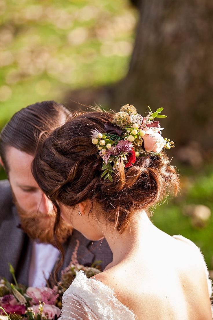 45 Spectacular Wedding Hairstyles With Flower Wedding Party