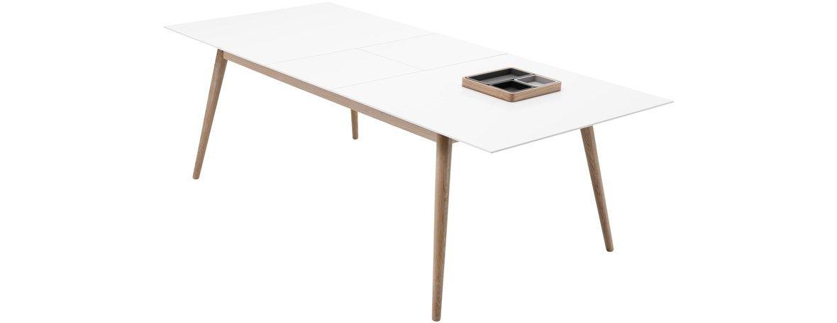 ausziehbare designer esstisch von boconcept milano tisch mit zusatztischplatte das produkt ist in - Boconcept Esstisch