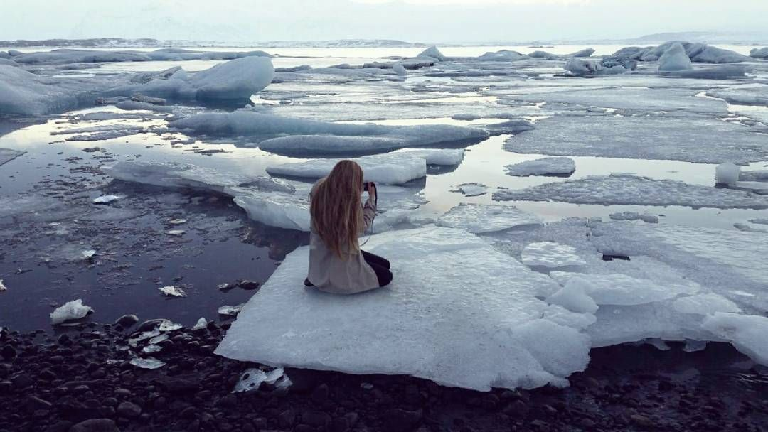THIS was one of the most beautiful moments of my life so far. .... #nowordsneeded #miracle #glacier #lagoon #peaceful