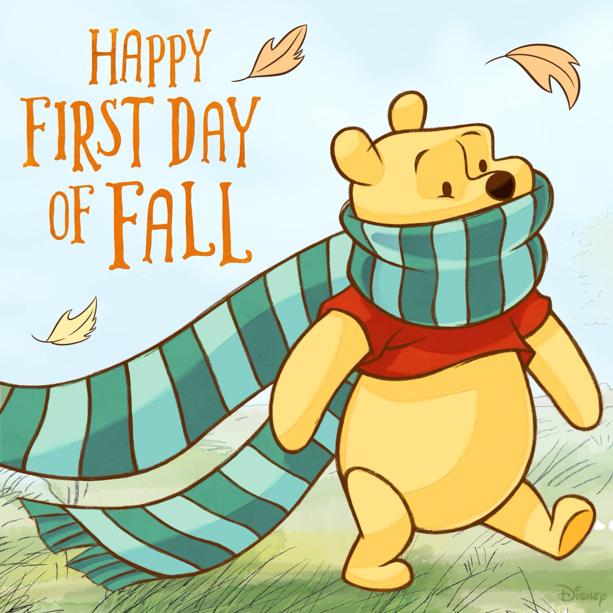 First day of Fall | Pooh quotes, Winnie the pooh