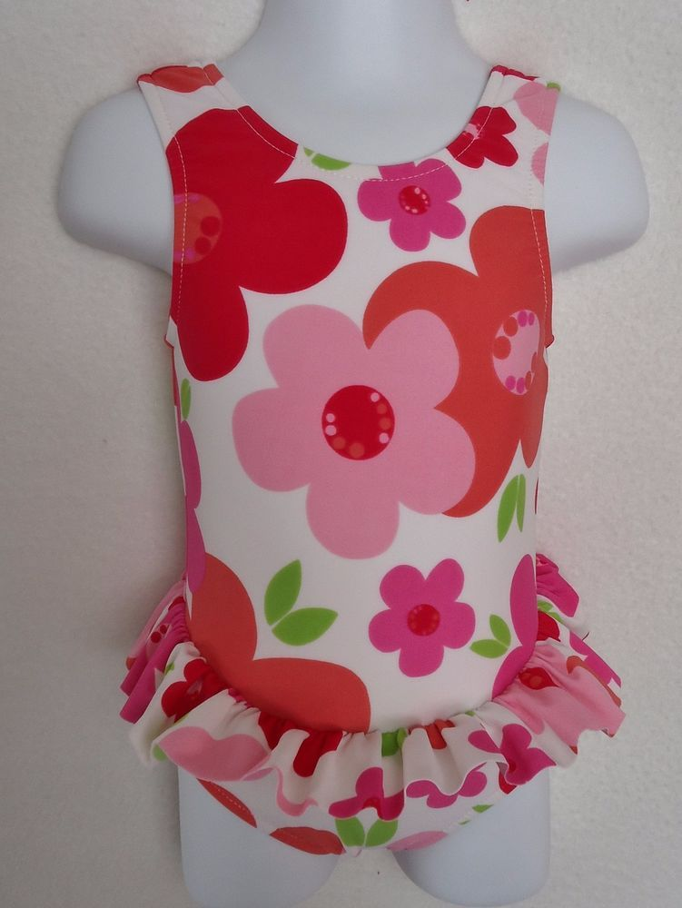 c92ae26be8f09 Banana Cabana Girls 18 Months Swim Suit Boutique Swimming Flower One Piece  USA  BananaCabana  OnePiece