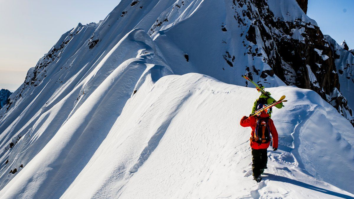 Cody townsend is skiing north americas 50 best lines