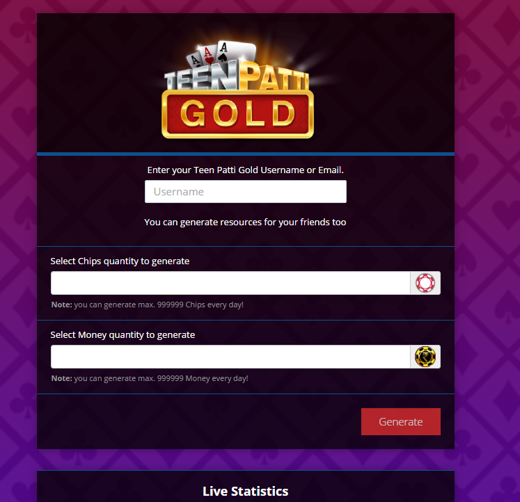Teen Patti Gold Hack Unlimited Chips Cheats – Free Download | | obii