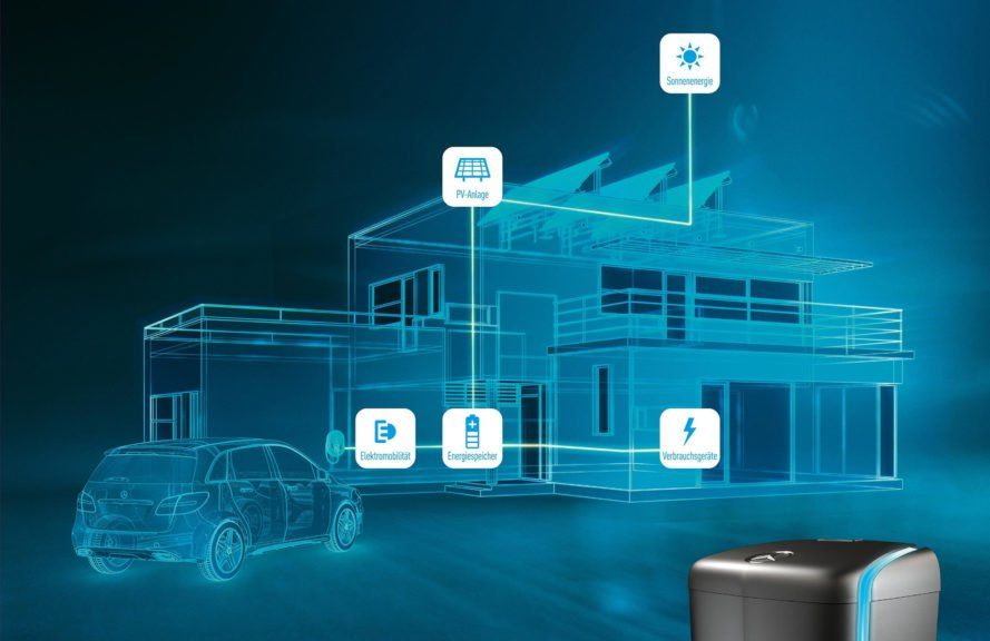 Mercedes Takes On The Tesla Powerwall With A New Battery For Buildings Energy Storage Solar Panel Cost Tesla Powerwall