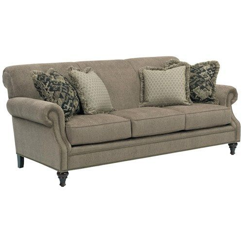 Patio Furniture Bloomington Illinois: Broyhill Furniture Windsor Sofa With Rolled Arms