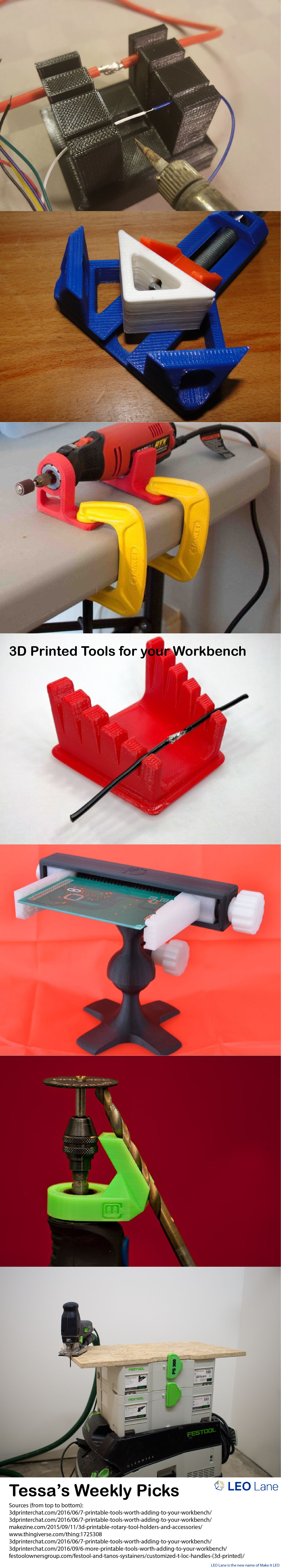 Tessa's Weekly Picks – 3D Printed Tools for your Workbench