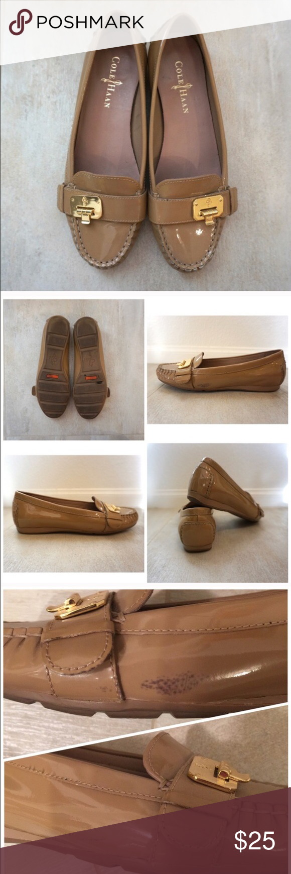 💕FLASH SALE💕Cole Haan loafers Reposh: condition shown in pictures. Great shoe and comfortable just not the greatest for wide feet. Cole Haan Shoes Flats & Loafers