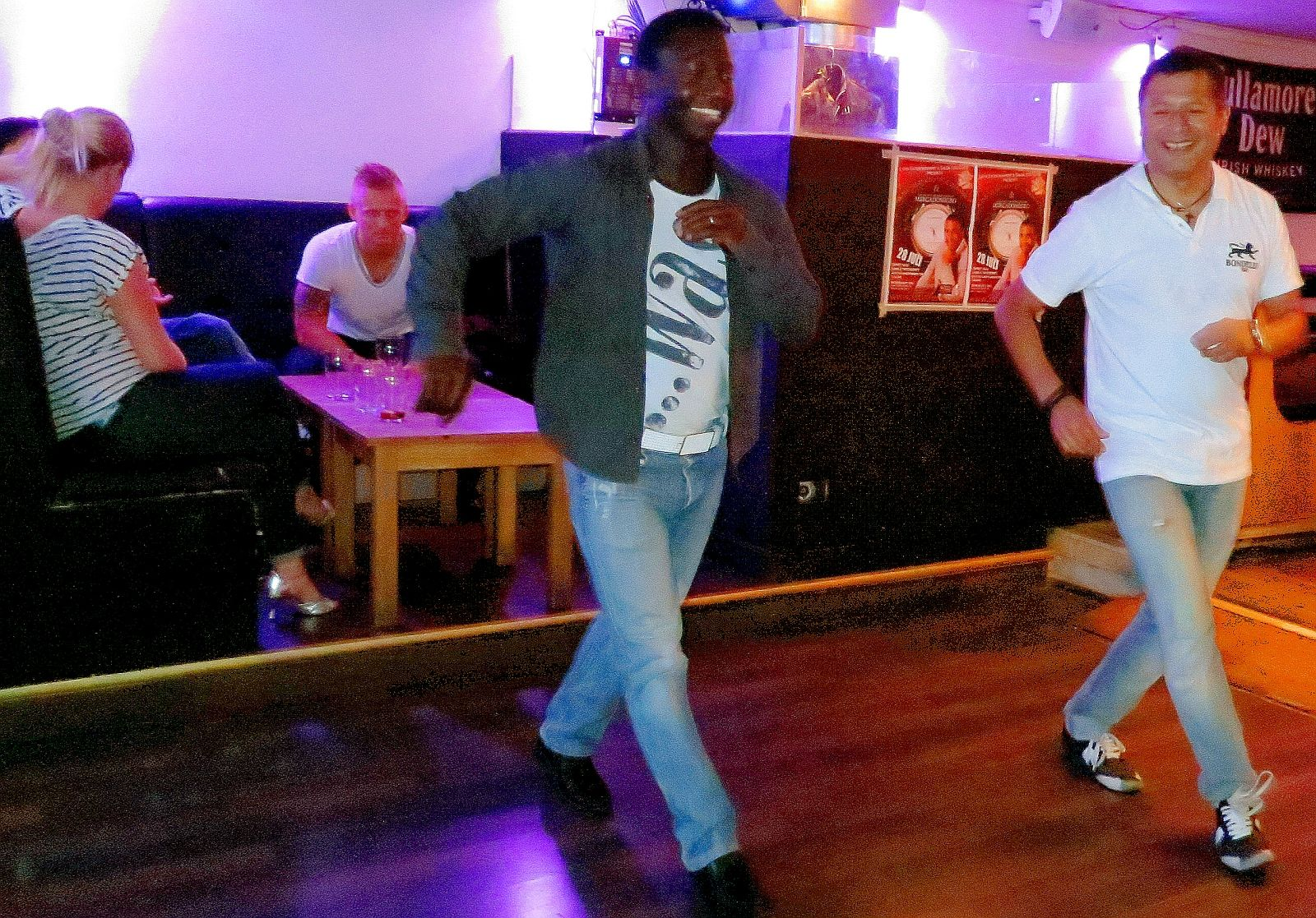 """Salsa Dancing at """"Jonny's Bar"""" in Stockholm, Sweden. More at the blog, and check out all Salsa Events in the Calendar!"""