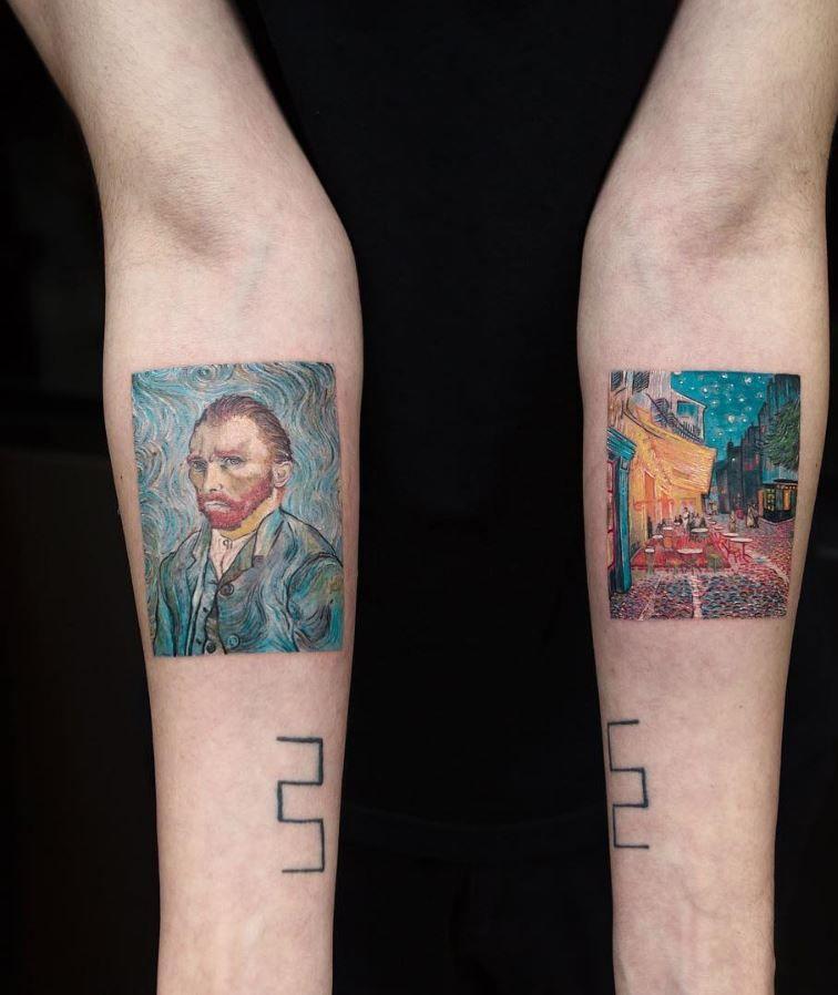 50 Best Tattoos From Amazing Tattoo Artist Eva Krbdk Minimalist