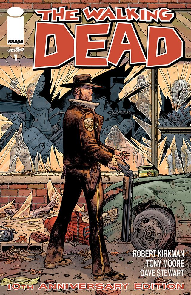 The Walking Dead 1 Comic Book Free Zombtees Walking Dead Comics Walking Dead Comic Book Image Comics