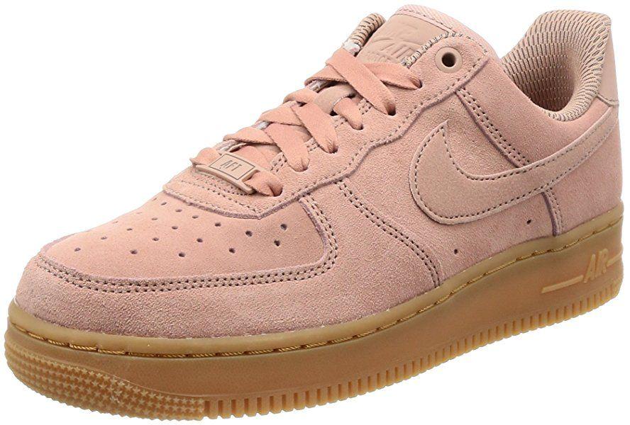 new concept 04245 d1851 Nike Air Force 1 07 Se, Chaussures de Basketball Femme, Rose (Particle