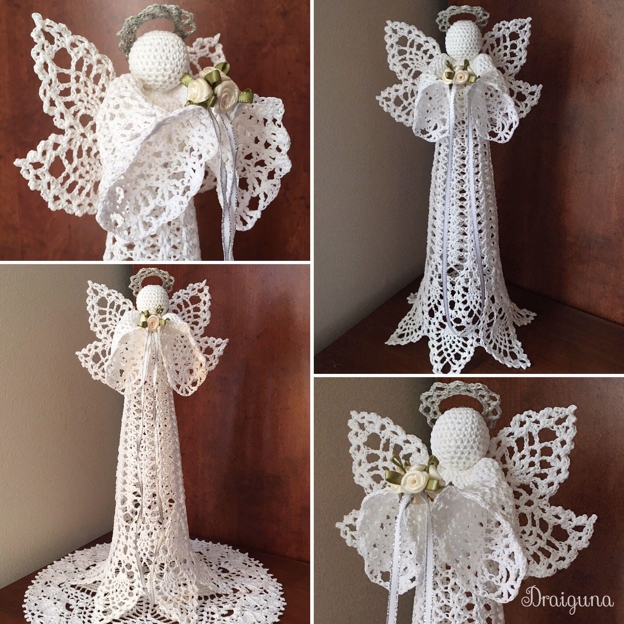 Crochet Angel Tree Topper Made To Order Christmas Crochet